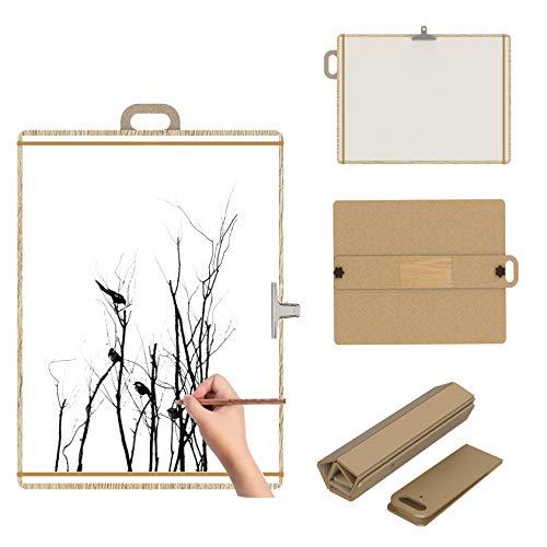 Dosenstek Artist Sketch Tote Board Holz Tragbar faltbar Artist Zeichnen & Skizzen Board 39,75 cm breit x 53,3 cm hoch (Tote Board)