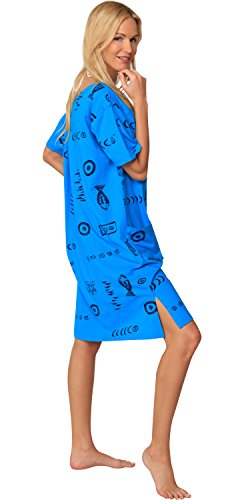 In Gear - Copricostume -  donna Turquoise/Navy