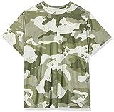 Nike Herren Dry Leg Camo Alloverpoint T-Shirt, Light Bone, XXL