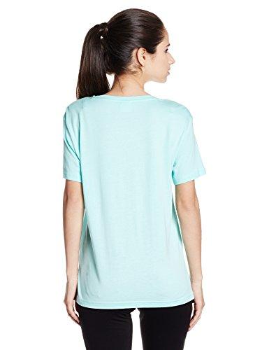 Puma Damen Archive Logo Tee T-Shirt aruba blue