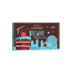 Idea Regalo - Confetti Maxtris Brownie Ciok Azzurri per nascita e battesimo Novità Maxtris