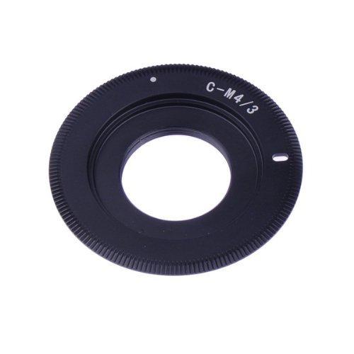 Neewer ® schlanke C-Mount-Objektiv an Micro 4/3 Four-Thirds-Systemkamera MFT-Mount-Adapter, passend für Olympus PEN E-P1 P2 P3 P5 E-PL1 PL2 PL3 PL1s PL5 PL6 E-PM1 PM2 OM-D E-M5-E-M1 Panasonic Lumix DMC-GH1 GH2 GH3 GX7 G1 G2 G3 G5 G6 G10 GF1 GF2 GF3 GF5 GF6 GX1 GM (Lumix Gf3 Kamera Tasche)