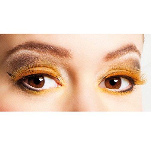 nge für Erwachsene (Orange Halloween Augen Make-up)
