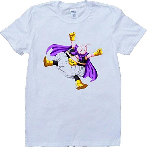 Dragón Bola Z Majin Buu Blanco Por Encargo T-Shirt - Small