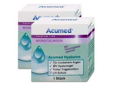 Acumed Hyaluron Monatslinse 2x1, Dioptrien: +2,50