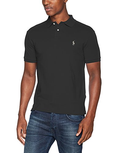 finest selection 54b16 3814d Ralph Lauren Short Sleeve-Knit, Camiseta para Hombre, Verde (Dark Carbon  Green Xwggj), Medium (Talla del Fabricante: 38)