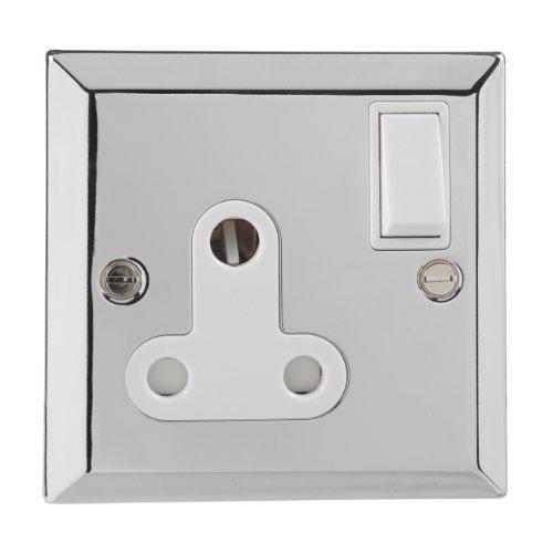 british-general-chrome-round-pin-15a-single-socket-bs-546