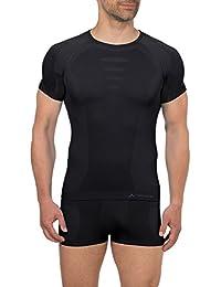 VAUDE Shirt - Camiseta para hombre, tamaño 52 UK, color negro