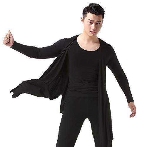 Cheng Peng Tanzkleidung für Herren Tanzkostüme Lateinische Tanzweste Trainingskleidung XXXL