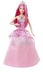 Barbie - CMR82 - Poupée Mannequin - Courtney Princesse Rock et Royales