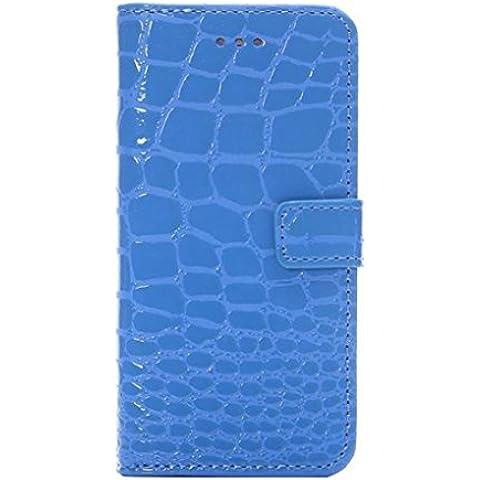 Vollter Custodia in pelle modello del coccodrillo per iPhone 6 / 6S più 5,5 stand coperchio dell'alloggiamento della scheda flip