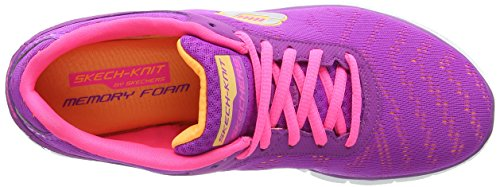 Skechers - Flex Appeal First Glance, Sneakers da donna Viola (pror)