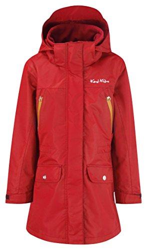 Kozi Kidz Mädchen wasserdichte Jacke Gotland, Red, 120 cm, 5055381811214 (Mädchen Kidz)