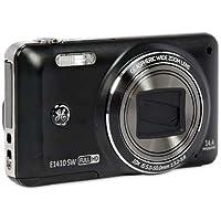 GE General Electric E1410SW Digitalkamera (14,4 Megapixel CMOS, 10-fach opt. Zoom, 7,6 cm (3,0 Zoll) Display, 28mm Weitwinkel, Optischer Bildstabilisator, High Speed Aufnahme, Full HD Video, Mehrfachbelichtung, HDR Pro, Nachführ Auto Fokus, 360° Panorama) schwarz