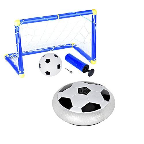 Cozywind Juego de Balón de Fútbol para Niños,Juguete de Fútbol,Incluye Portería, Red, Mini Inflable Pelota y Fútbol Flotante