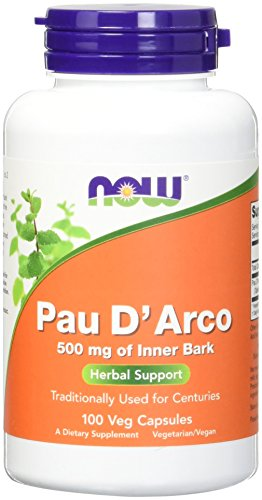 Now Foods, Pau d`Arco 500mg 100 Kapseln