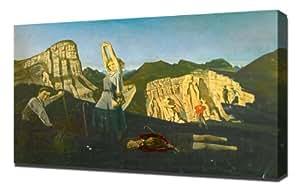 Balthus - The Mountain 1937 - Reproduction d'art - Taille Du Cadre 40cm x 60cm - Image Sur Toile