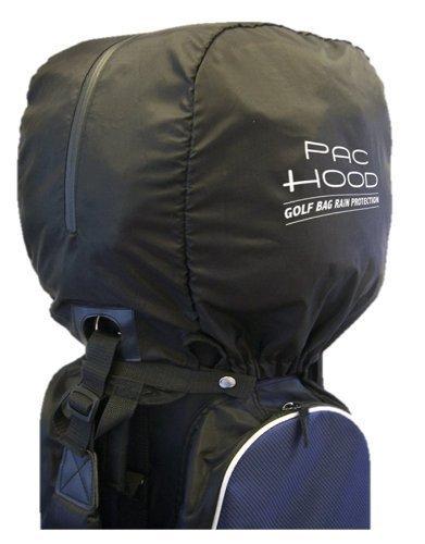 Golfers Club Golf Bag All Weather Rain Coverall Protector Black Pac Hood