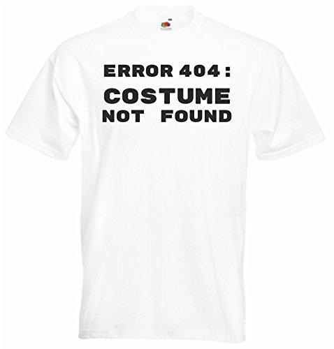 Black Dragon T-Shirt Herren - Unisex - JDM/Die Cut - Fasching/Karneval - Weiss - Fehler 404: Nicht Gefunden Hier Kostüm Bestellen - XXL (404 Fehler Kostüm Nicht Gefunden)