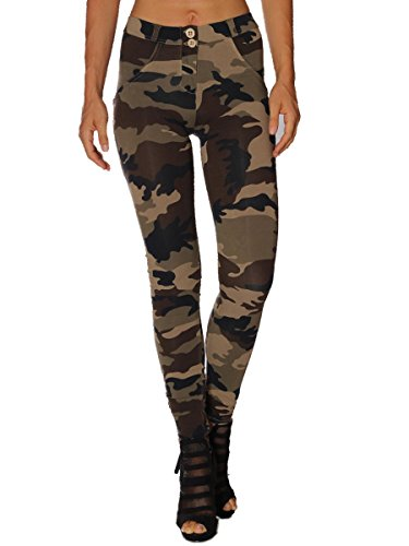 Pantalone Freddy Jeans Wr.Up Camouflage MainApps Var. Unica