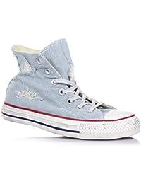 Converse All Star CT Brea Hi Sneaker Donna Pelle Verniciata Pelle Nero/Marrone