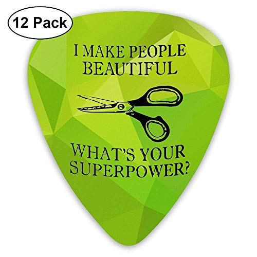 Hairdresser Hair Stylist Gift 351 Shape Classic Picks 12 Pack For Electric Guitar Acoustic Mandolin Bass