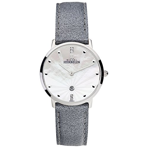 Michel Herbelin Ladies 'Watch Grey/Silver 16915/59GR