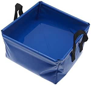 CAO Camping Cuvette carrée Bleu 12 L