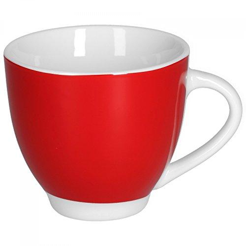 Van Well Porzellan Geschirr Serie Vario - Artikel und Farbe wählbar, Farbe:rot, Serie...