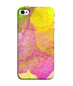 Snapdilla Designer Back Case Cover for Apple iPhone 5 (Drawing Abstract Pattern Imagination Pink Green)