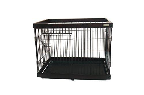 Simply Palace + S | Laufstall | Welpenlaufstall | Hundekäfig | Hundebox | Oben offen | Holz (Hundebox Aus Holz)