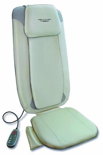 Plus Shiatsu-rücken-massagegerät (Massagesitz Ym12 Lehne Shiatsu Premium Plus, beige, YM12)