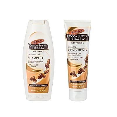 Palmer's Cocoa Butter Formula Vitamin E Moisture Rich Shampoo & Restoring Conditioner Sulfate Free** Deal** by Palmers