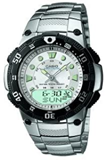 Casio Men's Radio Controlled Bracelet Combi Watch WVA-107HDU-7AVER (B000OH0PYK)   Amazon price tracker / tracking, Amazon price history charts, Amazon price watches, Amazon price drop alerts