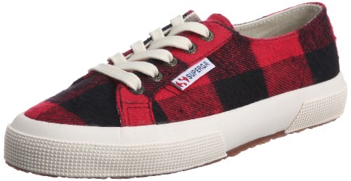 Superga 2750- TWD1U S0041R0-1, Sneaker donna Rosso (Red - Rot/Red- Black)
