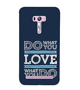 ifasho Designer Phone Back Case Cover Asus Zenfone Selfie ZD551KL ( Girl Art Beautiful Look Hot Tattoo )