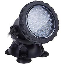 4x RGB 36 LED Teichbeleuchtung Aquarium Spotlight Unterwasser Strahler 12V IP68