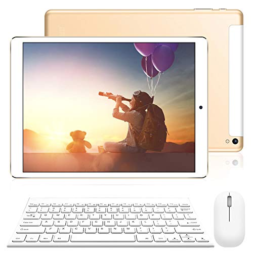 Tablet 10 Pulgadas 2 en 1 Tablet PC 4G/WiFi, 3GB RAM+32GB ROM/128GB An
