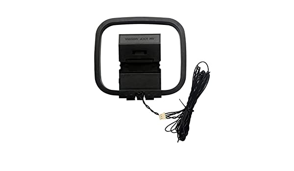 3Pin Interface 3dB Gain Digital Antenna Accessories TEEKOO AM Radio Antenna for Sony HiFi Systems