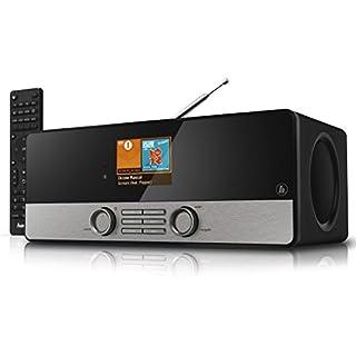Hama Internetradio Digitalradio DIR3100MS (Spotify, WLAN/LAN/DAB+/FM, 2,8
