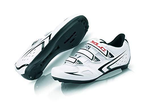 XLC Erwachsene Road-Shoes CB-R04, Weiß, 42 - Cleats Weiße Männer