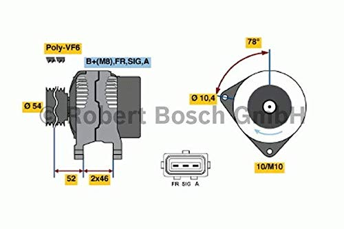 BOSCH 0986049171 Generator -