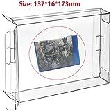 RUITROLIKER 10 Unids Clear Box Funda CIB Protector para PS4 PS3 Juegos Cartucho PS 4 Cartuccia