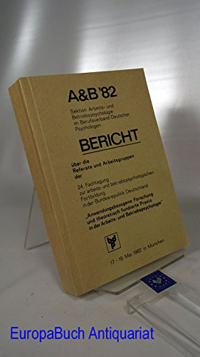 A& B 82 Sektion Arbeits- und Betriebspsychologie