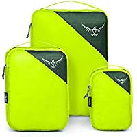 Osprey Ultralight Packing Cube Set - Electric Lime (S/M/L)