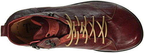 Think! Herren Kong Boots Rot (ROSSO/KOMBI 72)