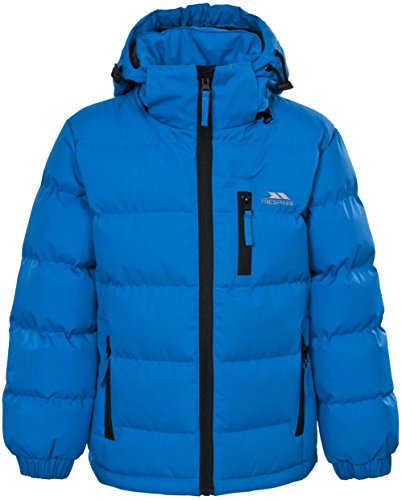 Boys Trespass Tuff Quilted School Jacket | Coat