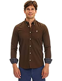 GALVANNI Comman, Camisa Casual para Hombre