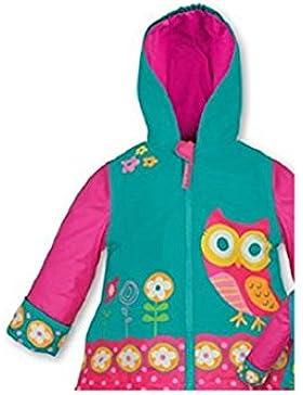 Eulen Eule Owl Owls Stephen Joseph Kinder Regenjacke Regenmantel Gr. 104 / 110