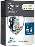 McAfee Antivirus Plus 2016 - 10 PC 1 Yea...